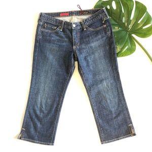 AG the Athena Blue Cropped Capri Jeans Size 29R